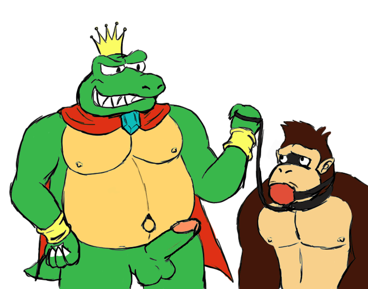it you spank donkey may kong Ting ting su and mei