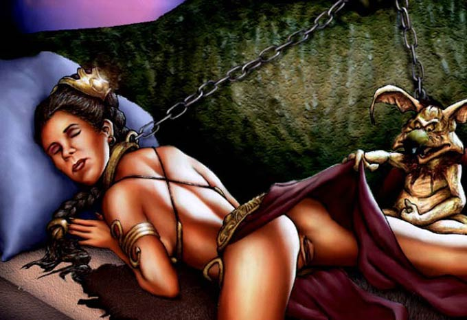 of jedi nudity return the Tales of androgyny
