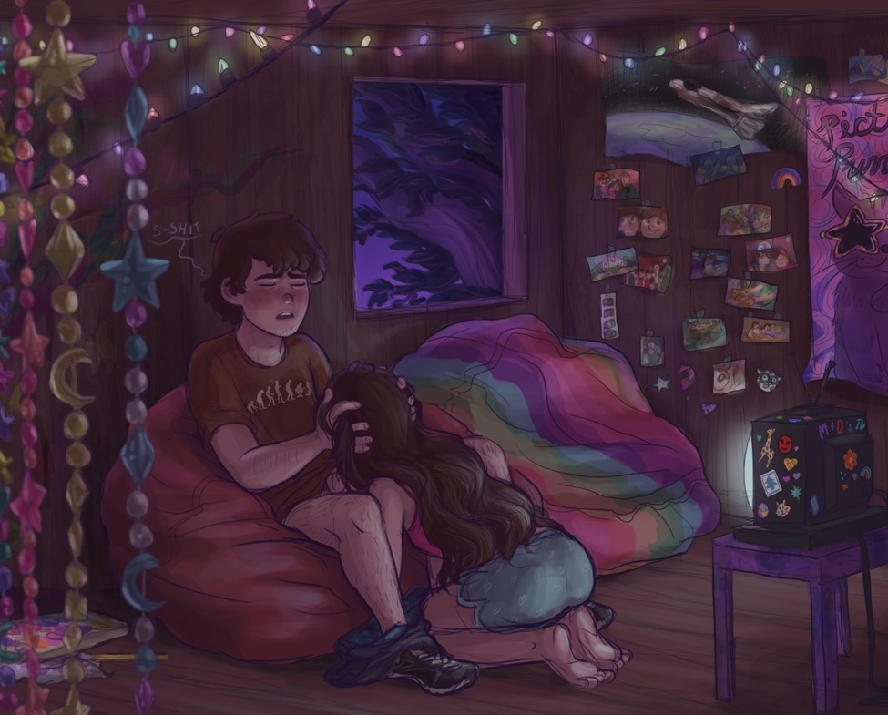 dipper mabel and Avatar the last airbender feet