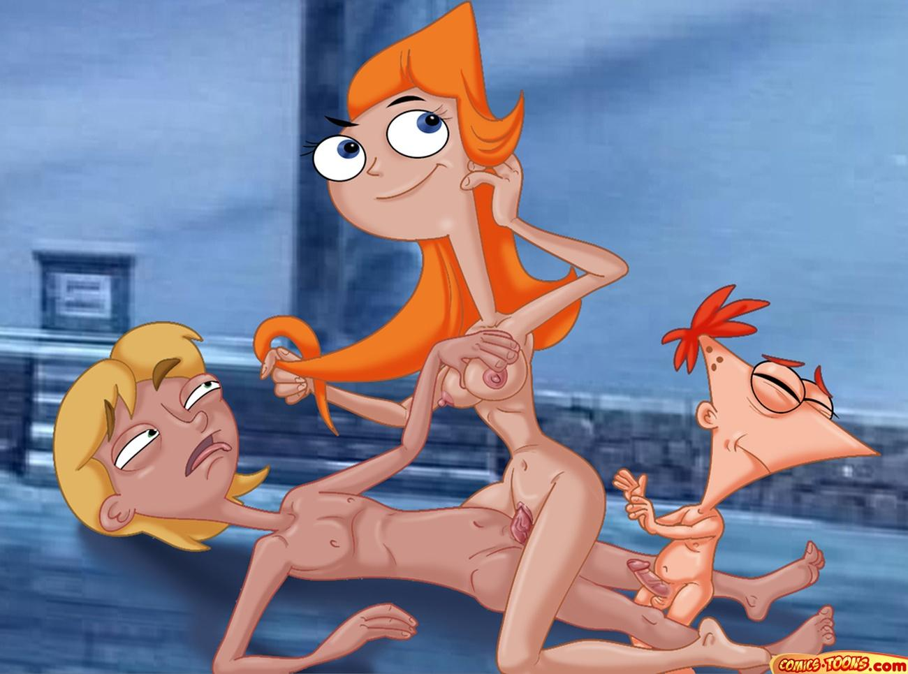 candace naked and phineas ferb If it exists theres porn