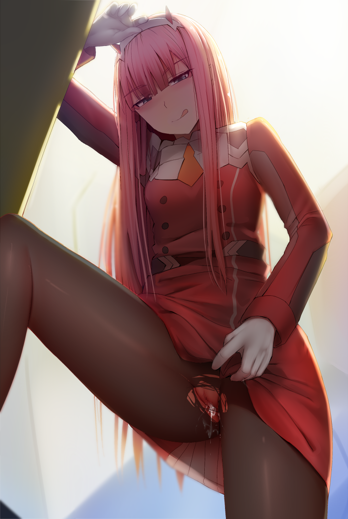 franxx in the gif 002 darling Night in the woods nsfw