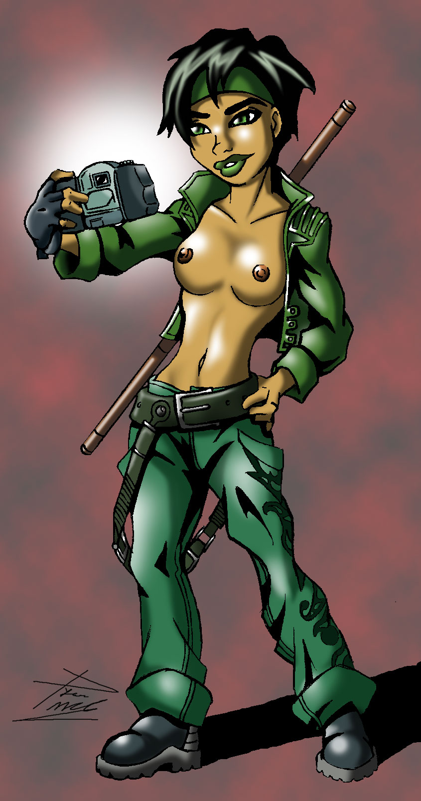 green ham and eggs michellee Baron of hell vs hell knight