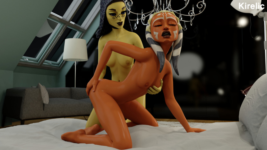 tano barriss offee and ahsoka My gym patner is a monkey