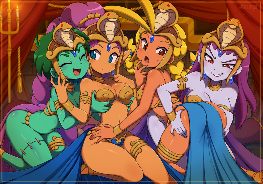curse shantae pirate's cacklebat and locations the Laflat location breath of the wild